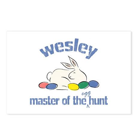 Easter Egg Hunt - Wesley Postcards (Package of 8)