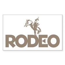 RODEO! Rectangle Decal