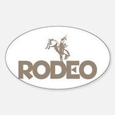 RODEO! Oval Decal