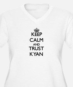 Keep Calm and TRUST Kyan Plus Size T-Shirt