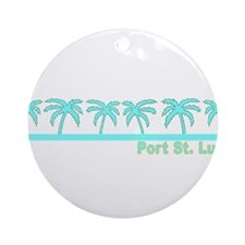 Port St. Lucie, Florida Ornament (Round)