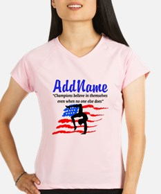 AMERICAN GYMNAST Performance Dry T-Shirt