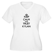 Keep Calm and TRUST Kylan Plus Size T-Shirt
