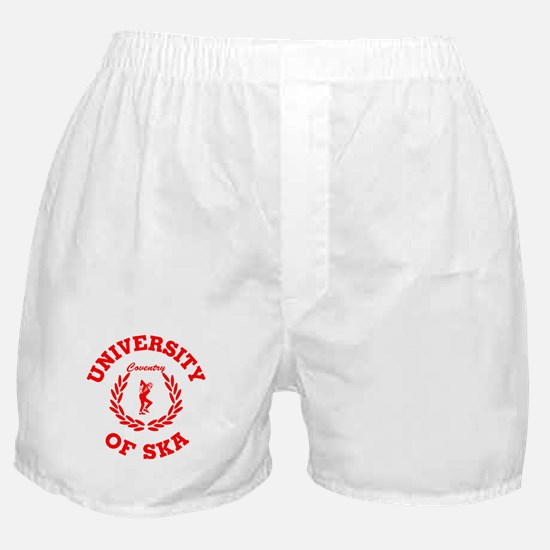 University of Ska Coventry red Boxer Shorts