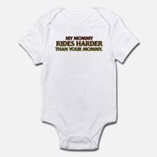 MY MOMMY RIDES HARDER Infant Bodysuit