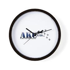 AKCuts Wall Clock
