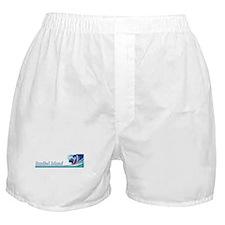 Sanibel Island, Florida Boxer Shorts
