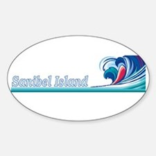 Sanibel Island, Florida Oval Decal