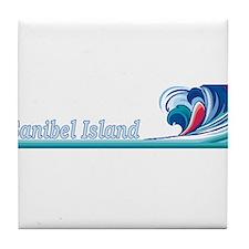 Sanibel Island, Florida Tile Coaster