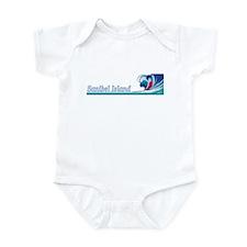 Sanibel Island, Florida Infant Bodysuit