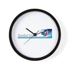 Sanibel Island, Florida Wall Clock
