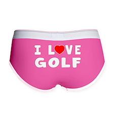 I Love Golf Women's Boy Brief