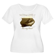 USS Wasp (LHD-1) Plus Size T-Shirt