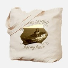 Unique Uss wasp Tote Bag
