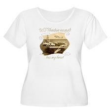 USS Theodore roosevelt9 Plus Size T-Shirt
