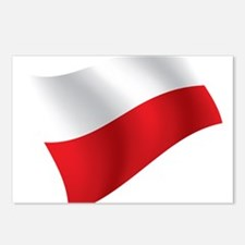 Polish Flag Postcards (Package of 8)