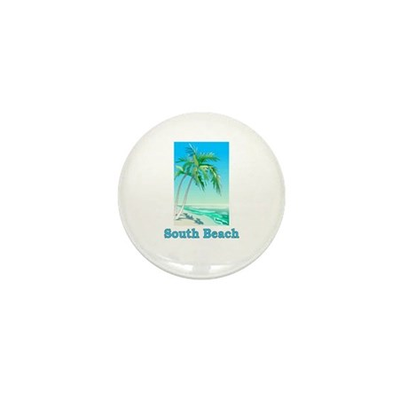 South Beach, Florida Mini Button (100 pack)