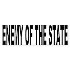 Enemy of the State - Bumper Bumper Sticker