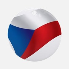 Flag of the Czech Republic Ornament (Round)