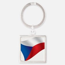 Flag of the Czech Republic Keychains