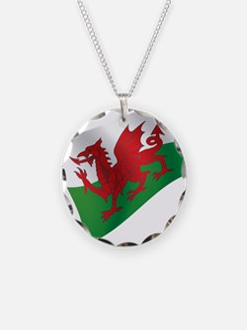 Welsh Flag Necklace