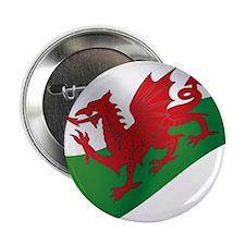 "Welsh Flag 2.25"" Button"