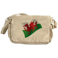 Welsh Flag Messenger Bag