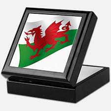 Welsh Flag Keepsake Box