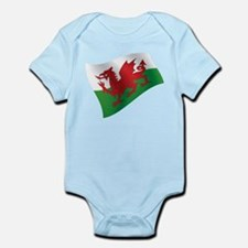 Welsh Flag Body Suit