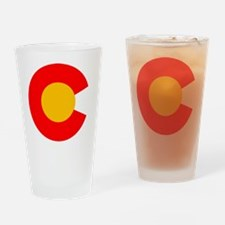 CO - Colorado Drinking Glass