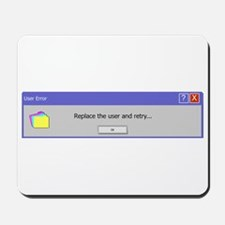 Computer Error Mousepad