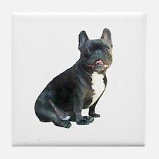 French Bulldog (blk)1 Tile Coaster