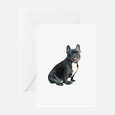 French Bulldog (blk)1 Greeting Cards (Pk of 20)