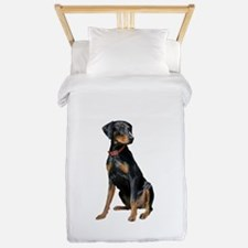 Doberman (nat1) Twin Duvet