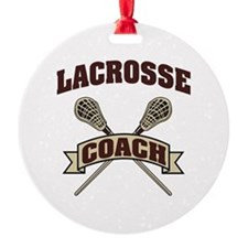 Lacrosse Coach Ornament