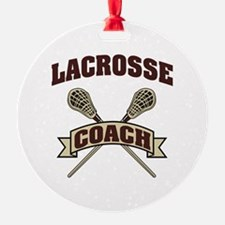 Lacrosse Coach Ornament