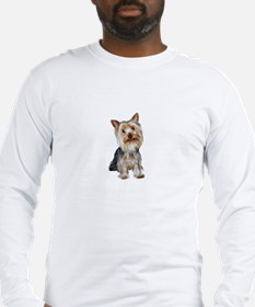 Silky Terrier (gpol1) Long Sleeve T-Shirt