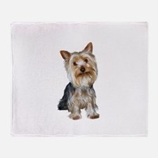 Silky Terrier (gpol1) Throw Blanket