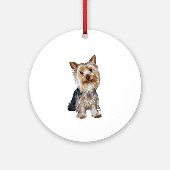 Silky Terrier (Gpol1) Ornament (Round) Ornament (R