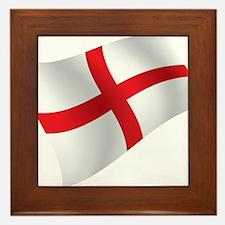 English Falg Framed Tile