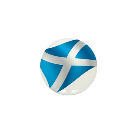 Scotland Flag Mini Button