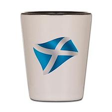Scotland Flag Shot Glass