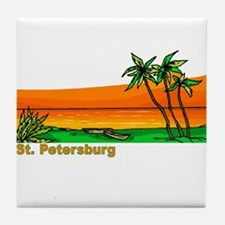 St. Petersburg, Florida Tile Coaster