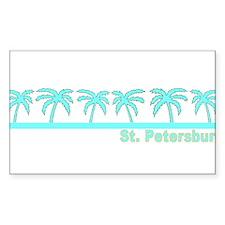 St. Petersburg, Florida Rectangle Decal