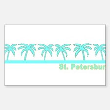 St. Petersburg, Florida Rectangle Decal