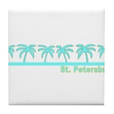 St. Petersburg, Florida Tile Coaster