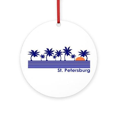 St. Petersburg, Florida Ornament (Round)