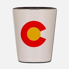 CO - Colorado Shot Glass