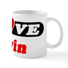 I Love Devin Mug