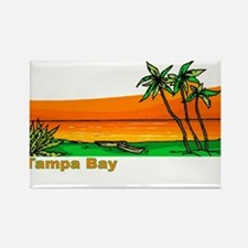 Tampa Bay, Florida Rectangle Magnet